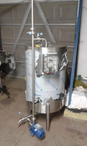 300l Mixing Holding Tank with pump